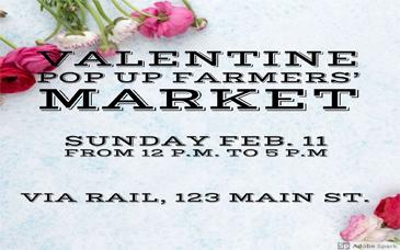 Valentine Pop Up Farmers Market