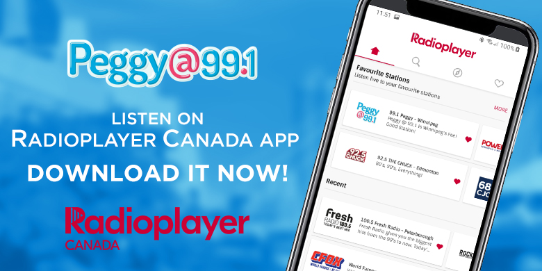 Listen on the Radioplayer Canada App